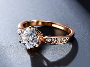 Fashion Elegant Wedding Engagement Women Rings