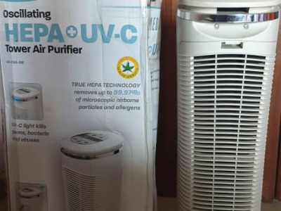 Homedics HEPA + UV-C Tower Air Purifer