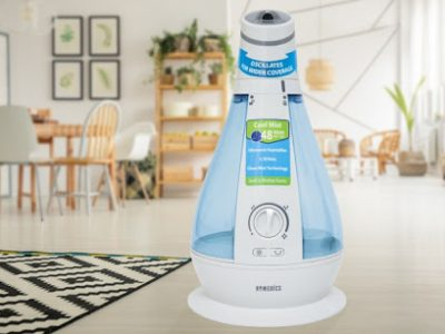 HoMedics Ultrasonic Cool Mist Humidifier 3.78litre