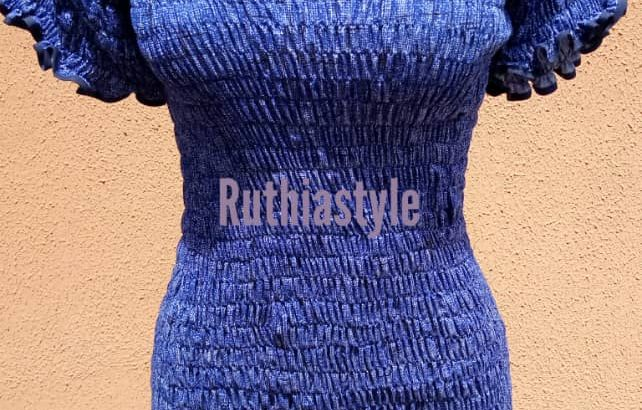 Ruthiastyle Women's Smoked Dress