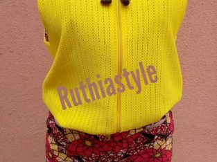 Ruthiastyle Women's Sleeveless Hooded Jacket/Short