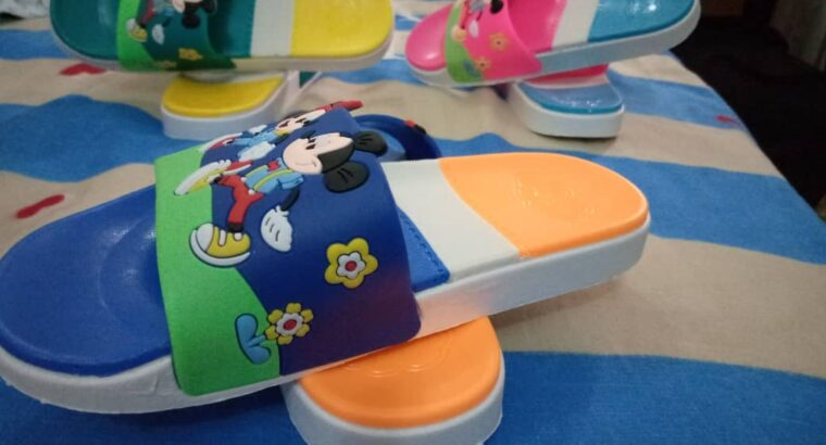 Lizzy Gold Colorful Mickey Mouse Kids Footwear